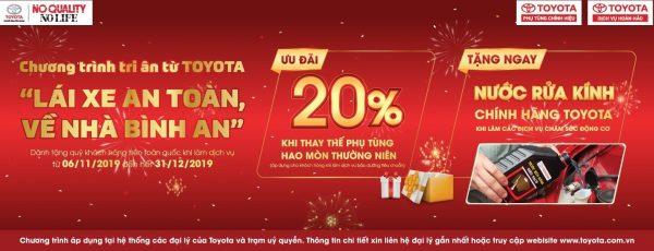 """Chương trình tri ân của Toyota Việt Nam – """"LÁI XE AN TOÀN, VỀ NHÀ BÌNH AN"""""""